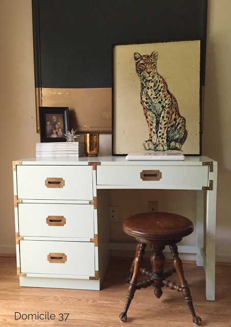 DIY Campaign Desk | Painting Campaign Furniture | Fab Furniture Flippin' Contest
