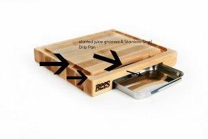 #cutting #chopping #kitchen #cooking http://danareviews.com/johnbooscuttingboard/