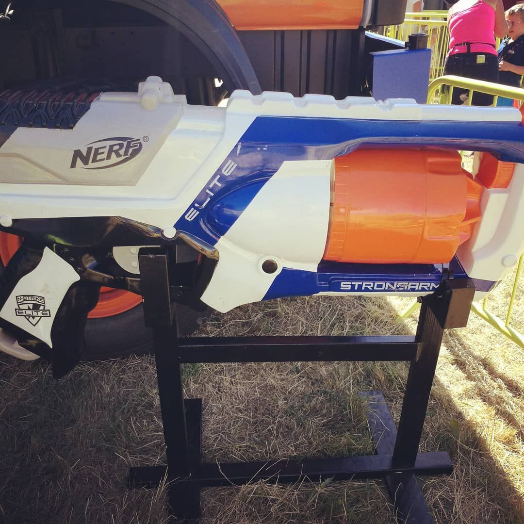 foot strongarm great hasbro nerf area at geronimo today some