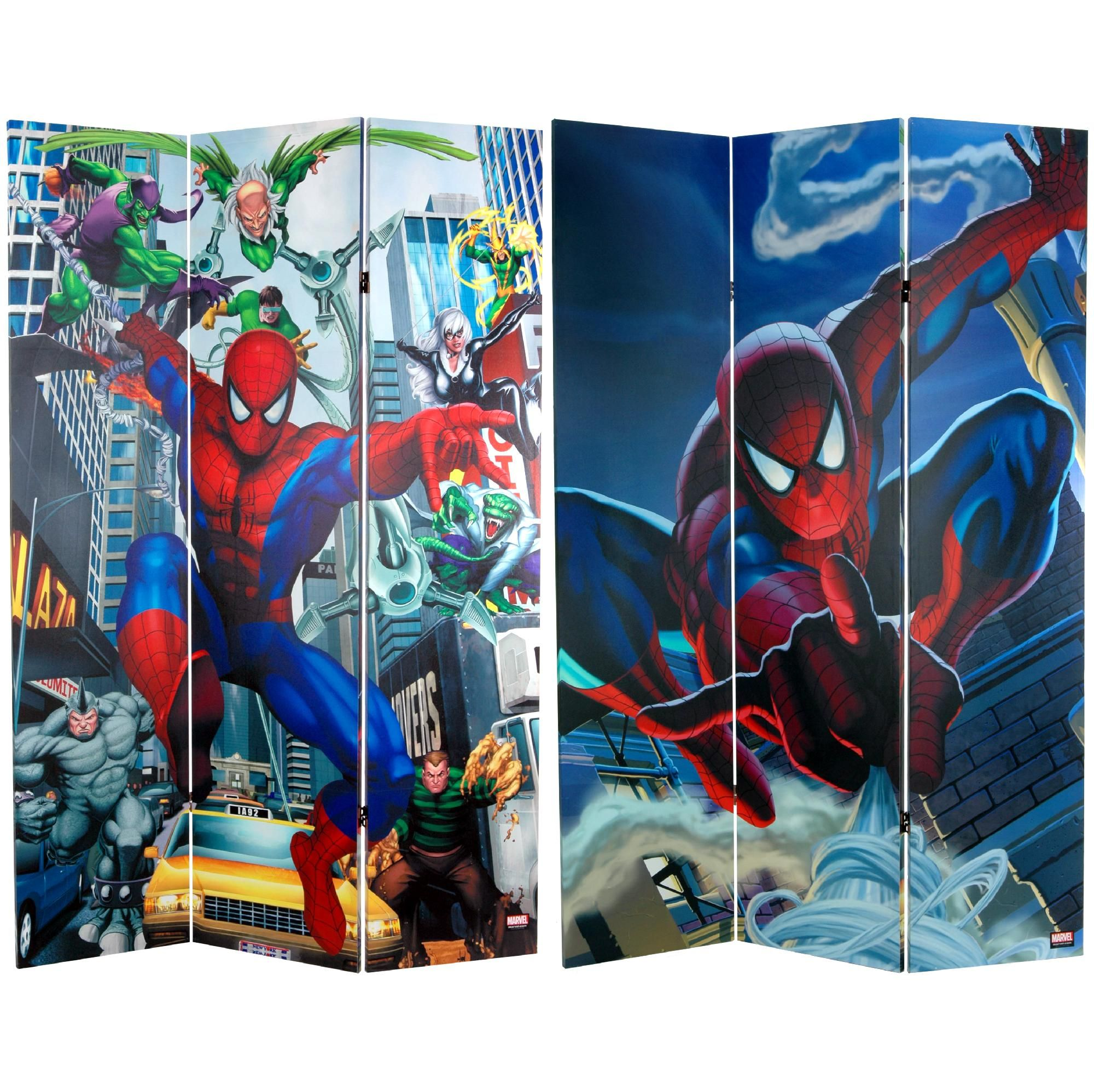 12 Double-sided Images Cake Topper Spiderman Cupcake Picks into the Spider-Verse Movie Avengers Marvel Comics Party Over Here