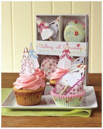 Princess Cupcake Decorating Kit