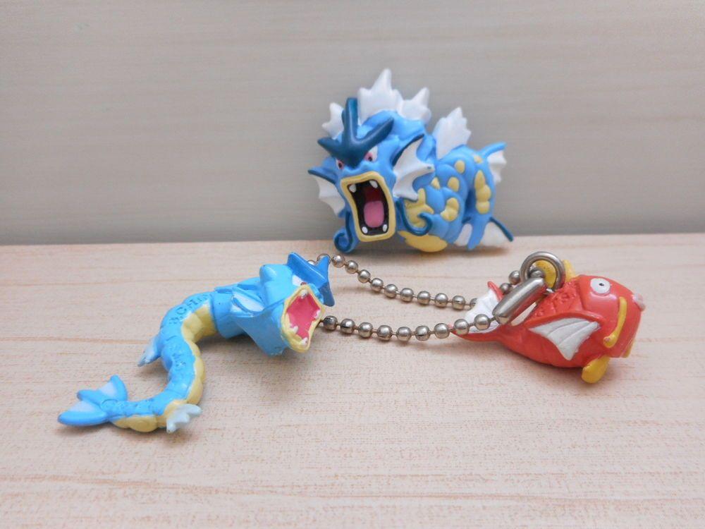 Pokemon Zukan Gashapon 1//40 scale figures Aipom /& Ambipom Part 15