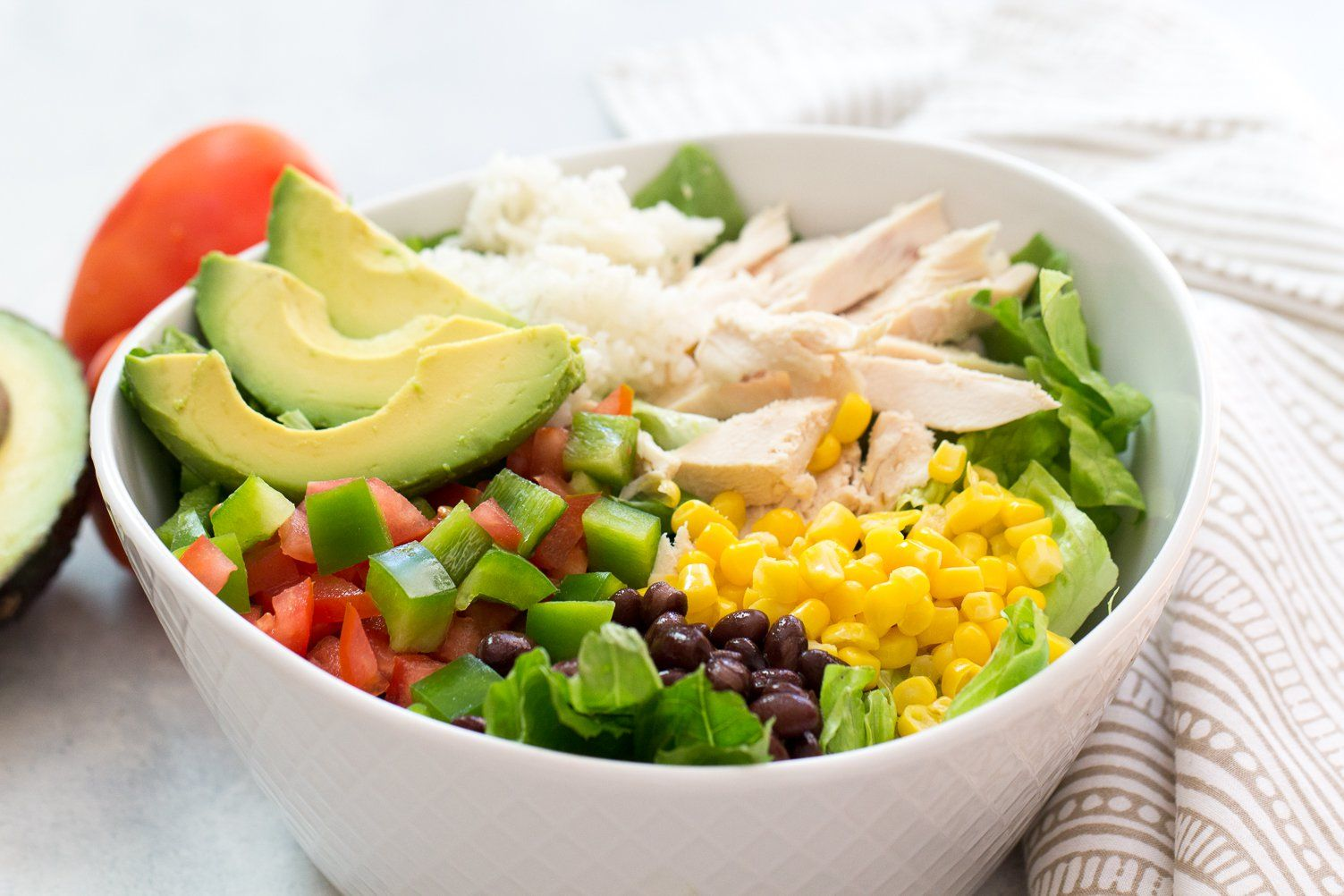 Chicken Burrito Bowls Recipe With Images Chicken