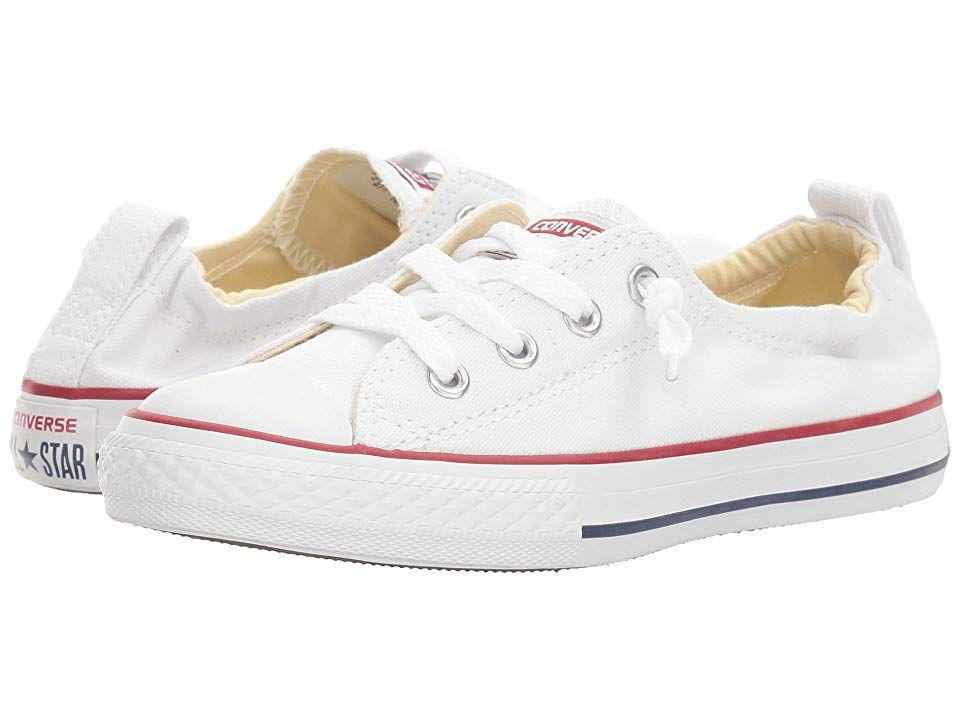 3eff3201b9f8 Converse Kids Chuck Taylor(r) All Star(r) Shoreline Slip (Little Kid Big Kid)  (Optical White) Girls Shoes. You don t have to go to the Shoreline to enjoy  ...