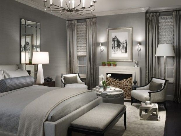 Elegant And Modern Master Bedroom Design Ideas Silver Natural Metal Grey