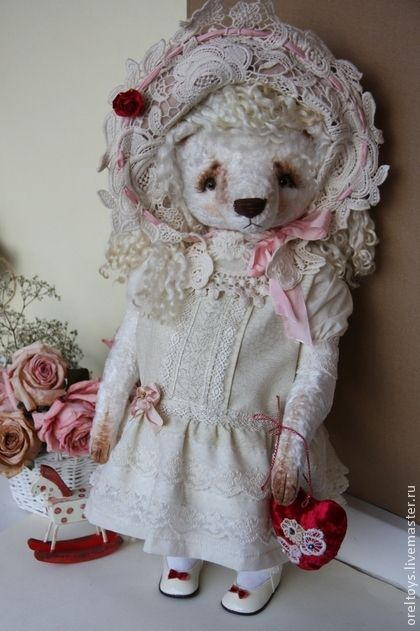 Teddy Bears handmade.  Kathy (45 cm).  Olga Orel.  Shop Online Fair Masters.