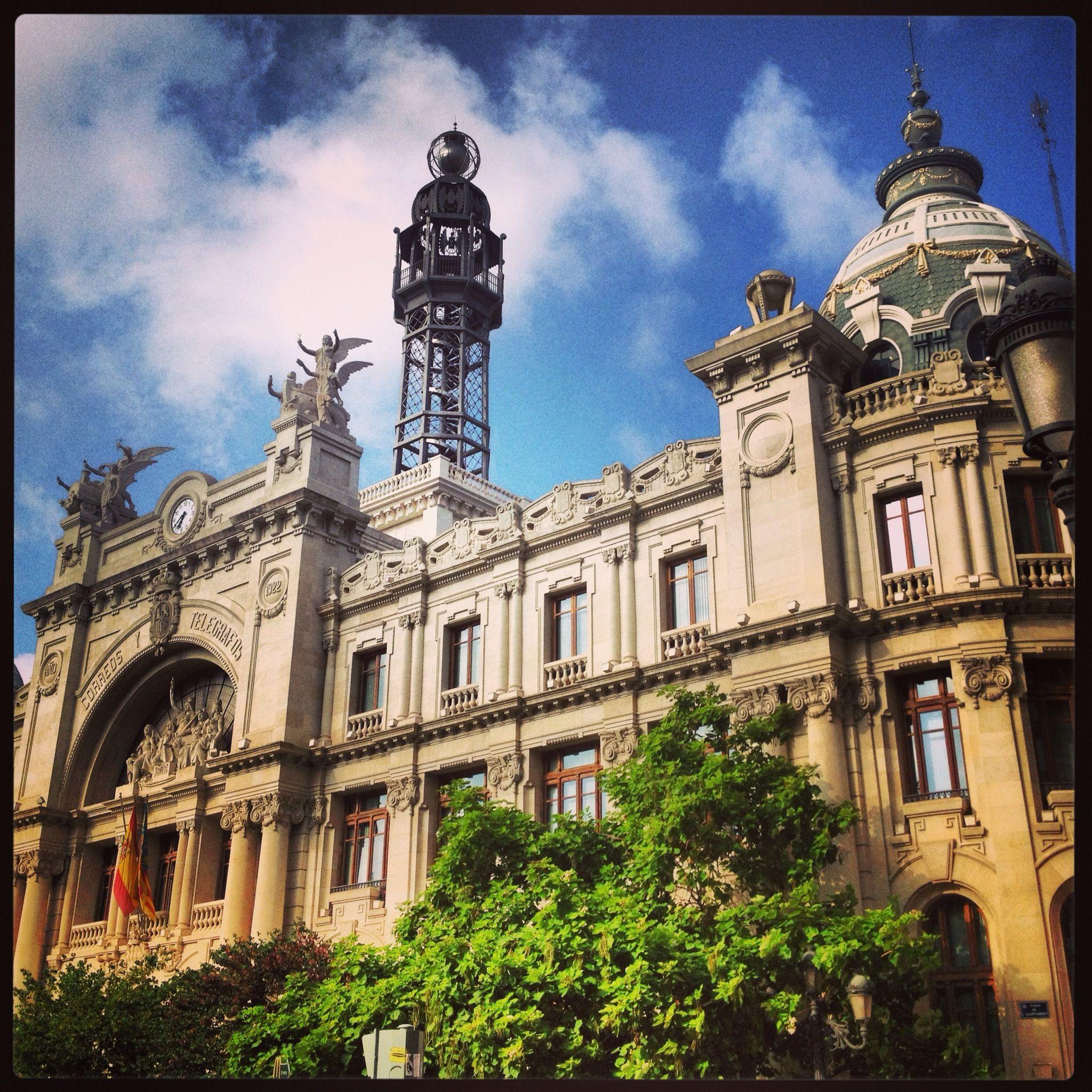 icina central de Correos Valencia