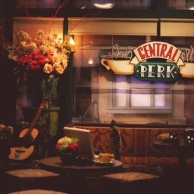 On the to do list- Visit the famous central perk café from friends