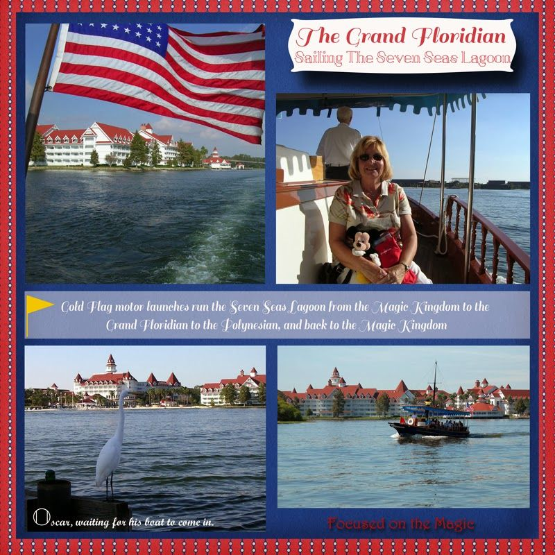 Motor Launch to the Grand Floridian Resort & Spa