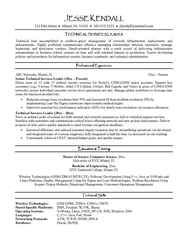 Leadership Resume Examples Captivating Resume Examples Leadership  Resume Examples And Template