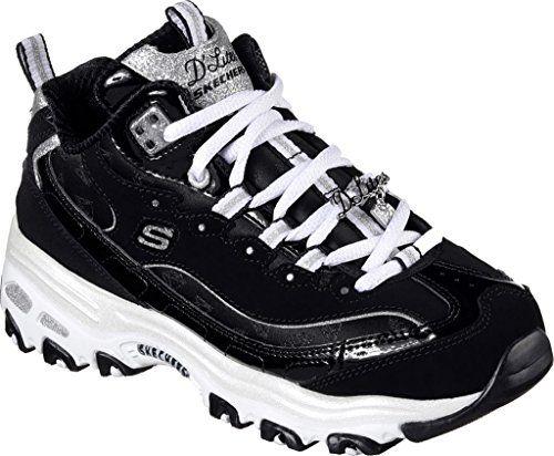 34c76567e7c Skechers Women s D Lites Style Revamp Sneaker · Women s OxfordsWoman Style SneakersBlack WhiteAbsShoes ...