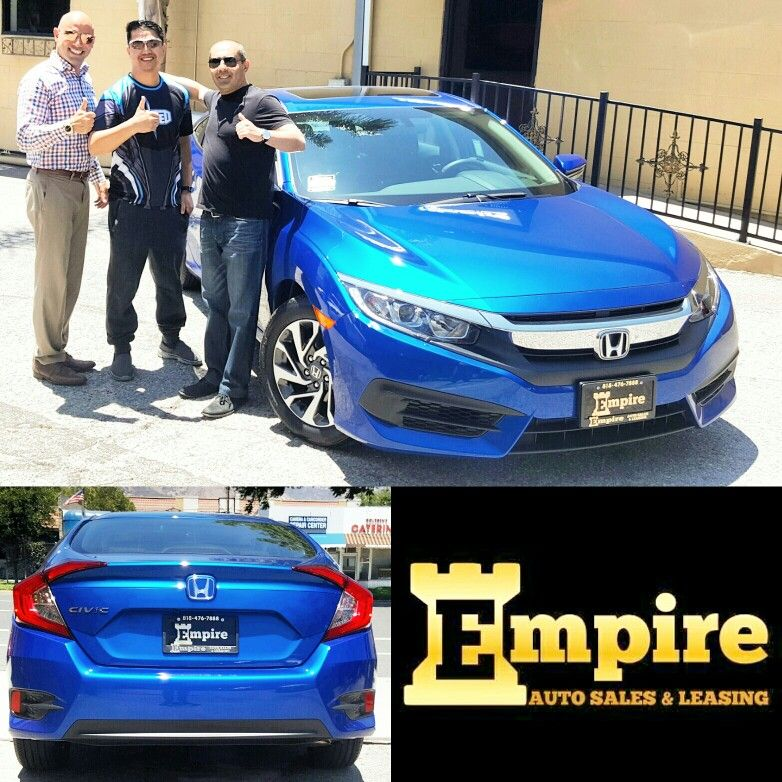 Congratulations To The Gonzales Family On Their Brand New Honda Civic EX.  Enjoy Your New