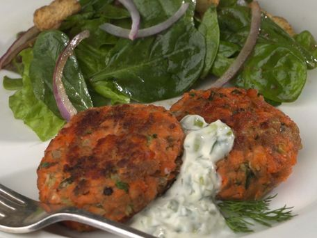 Healthy Salmon Cakes Canned Salmon