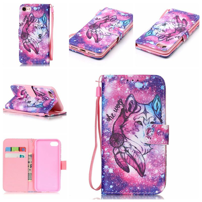 12 Fashion Patterns Stand Flip Case for Apple iPhone 7 PU Leather+ Soft Silicon Wallet Cover for iPhone 7 Plus Case Coque Fundas | iPhone Covers Online