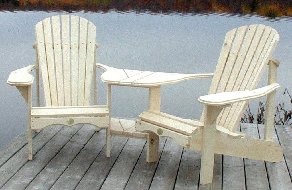 Bear Chair Angled Pine Tete a Tete Kit