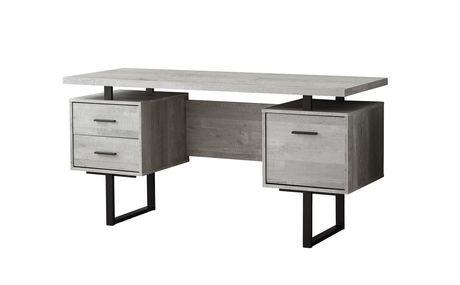 Monarch Specialties Inc Monarch Specialties Computer Desk Grey