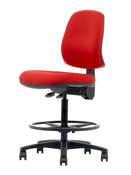 the magnum drafting chair provides a superior comfortable level of