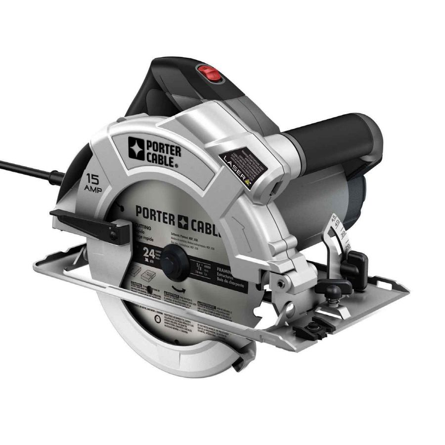 Shop Porter Cable 15 Amps 45 Degree 7 In Corded Circular Saw At Lowes Com Porter Cable Circular Saws Circular Saw
