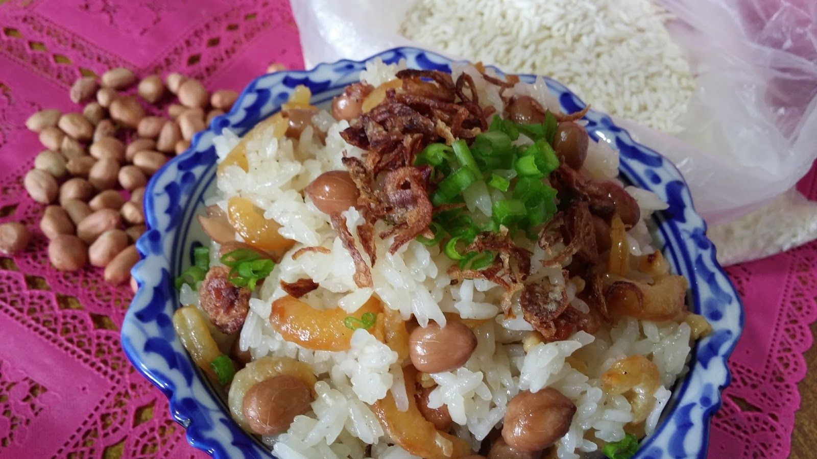 Steam White Glutinous Rice | Glutinous rice, Cooking, Food ...