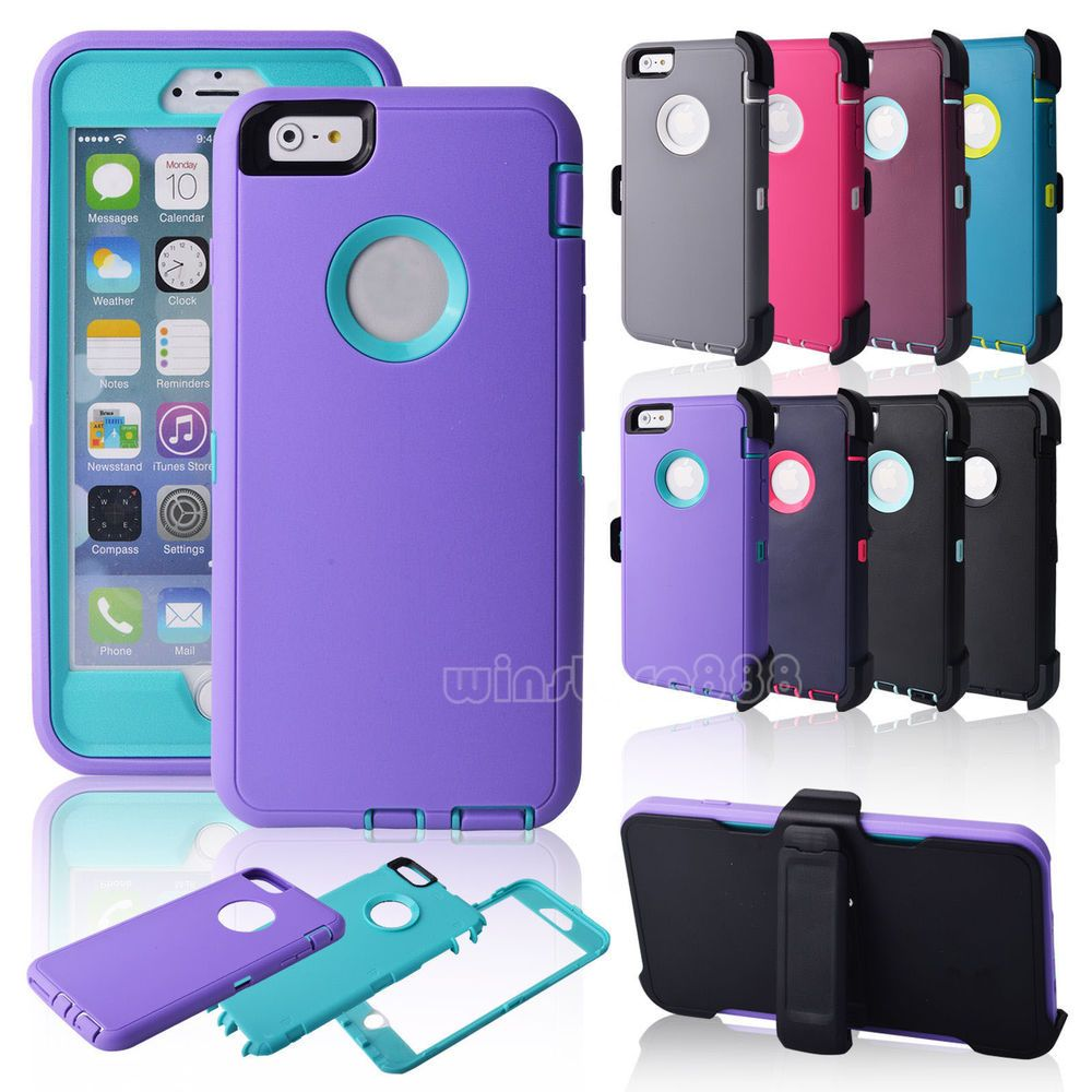 iphone 6 case shockproof case blue