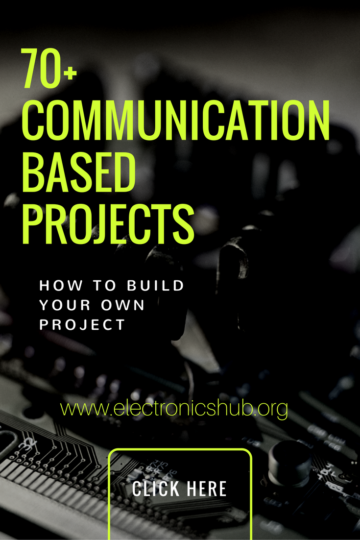 70+ Communication Based Projects for Engineering Students ...