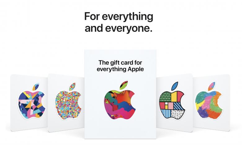 بطاقة هدايا آبل جديدة شاملة تصلح لشراء أي شيء من متجر آبل Universal Gift Card Universal Gift Apple Gift Card