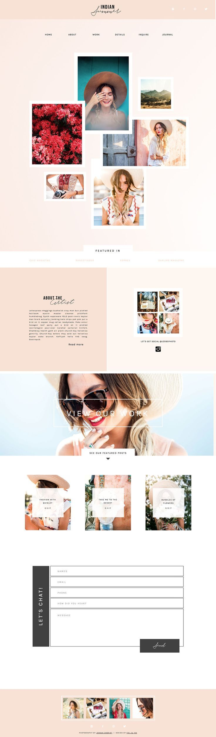 Showit 5 Premium & Free Photography Website Templates ...