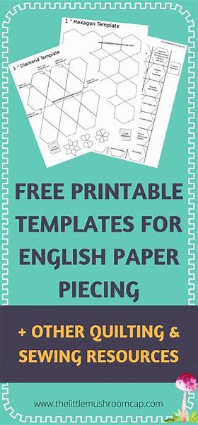 Quilt Hexen Image Result For English Paper Piecing Templates | English