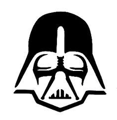 Darth Vader Template | Darth Vader Ornament Face Image Google Search Vinyl Images