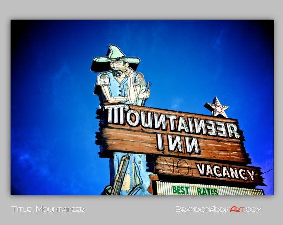 vintage road signs | Vintage Neon Sign Vintage Motel Sign Neon Bulbs ... | Vintage road si ...