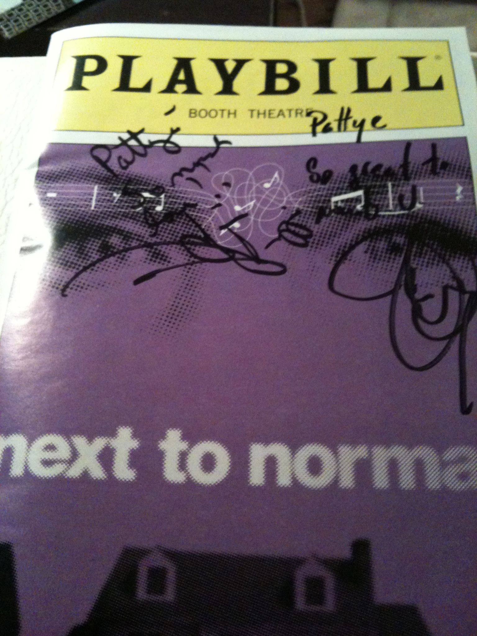 #Broadway #Theatre I was so honored to not only see Marin Mazzie, Jason Danieley and @Kyle Dean perform in Next to Normal, but to get to meet them backstage! One of my NYC highlights, for sure!