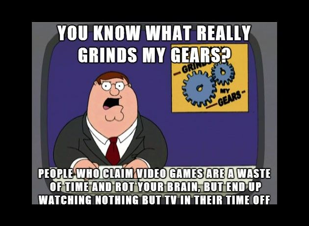 Image result for tv vs gaming lazy meme