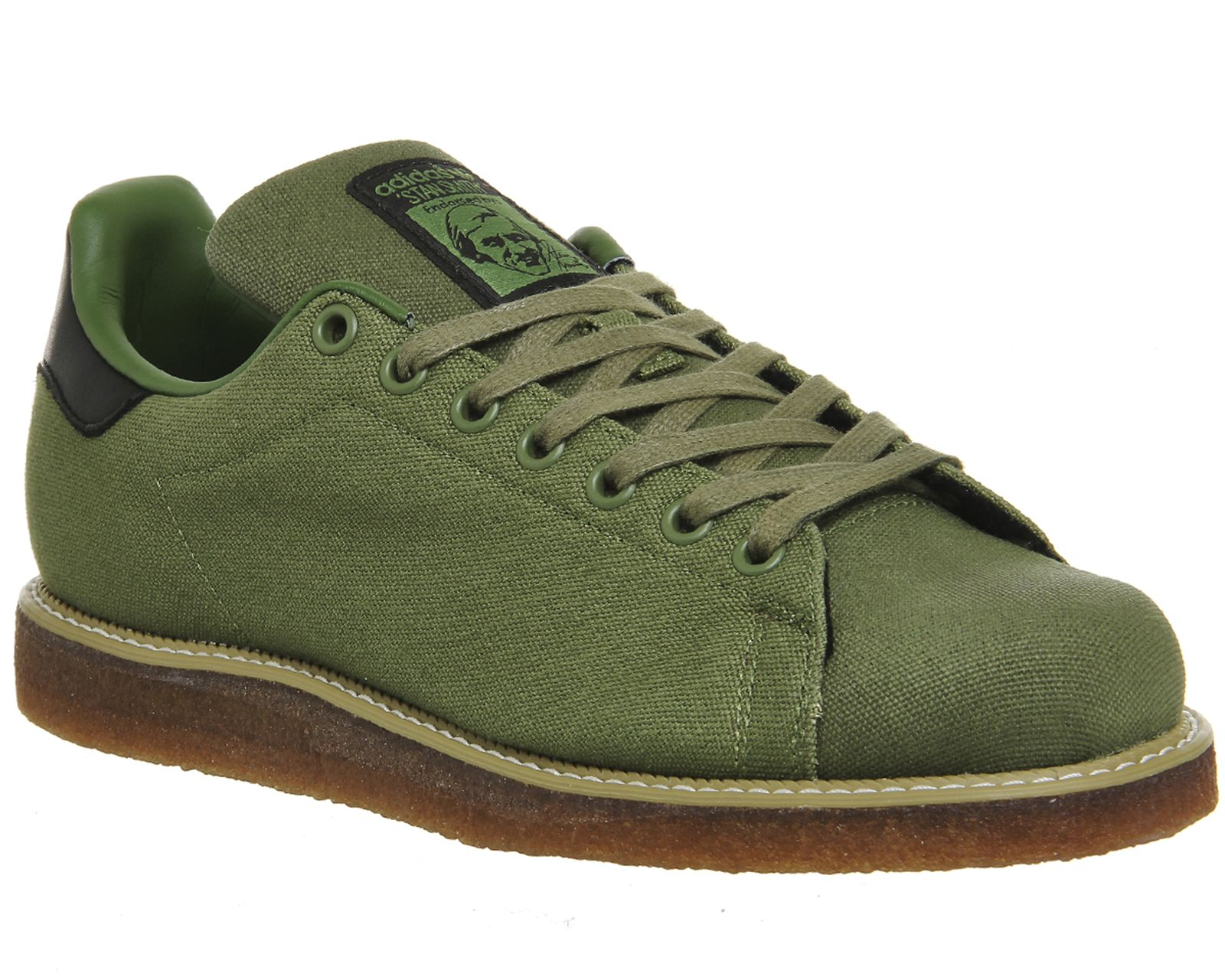 Adidas Stan Smith Wedge Parker Green Offspring 20 - His trainers