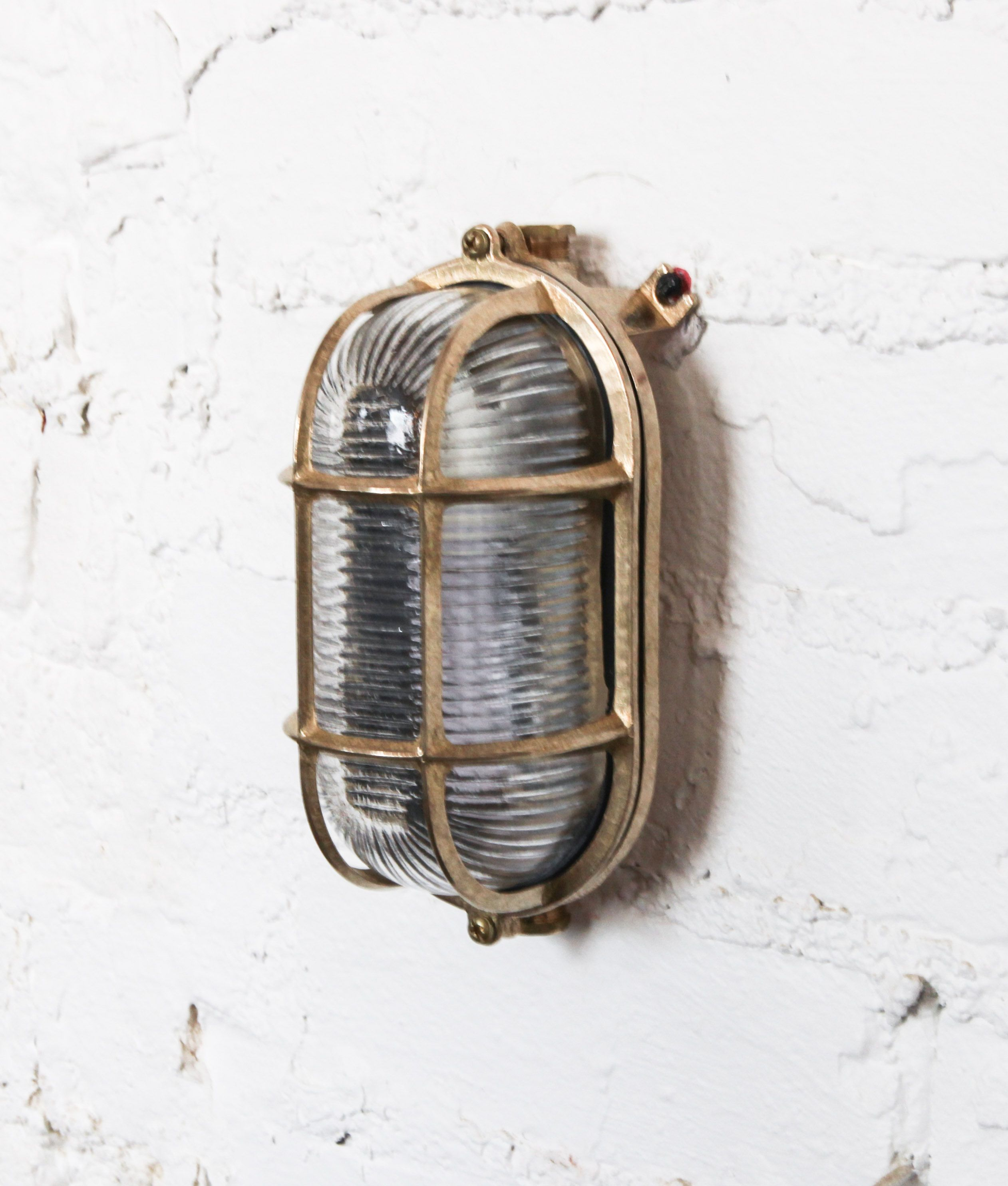 Oval bulkhead wall light in polished brass 5 lighting oval bulkhead wall light in polished brass 5 aloadofball Images