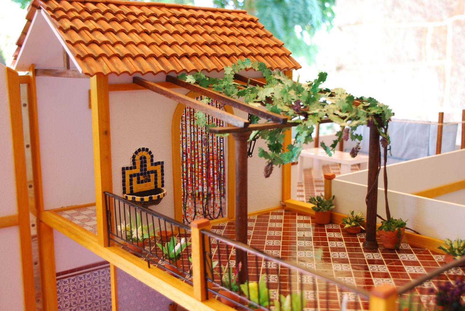 Casa andaluza de altaya dolls house projects pinterest for Casa andaluza