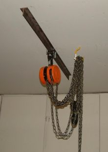 Chain Hoist Shop Made Tools In 2019 Chain Garage Tools