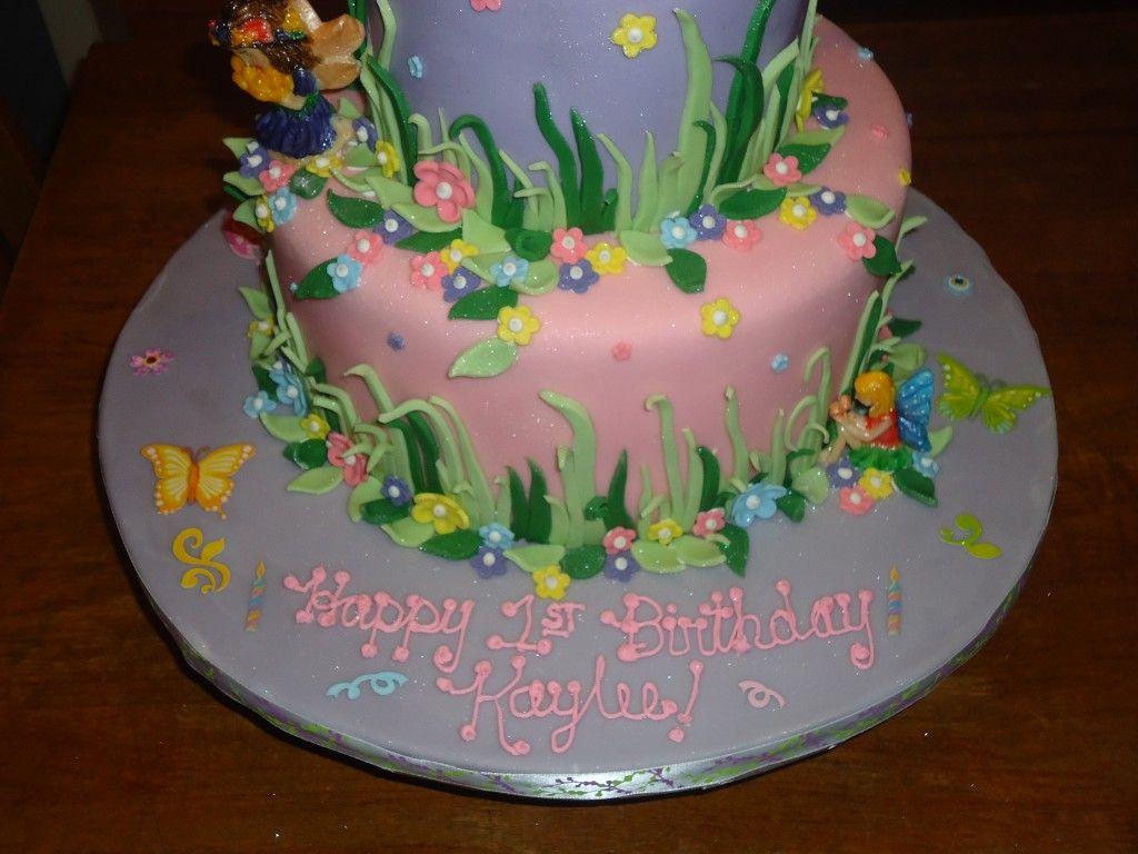 fairy garden birthday cake Google Search tess cake Pinterest