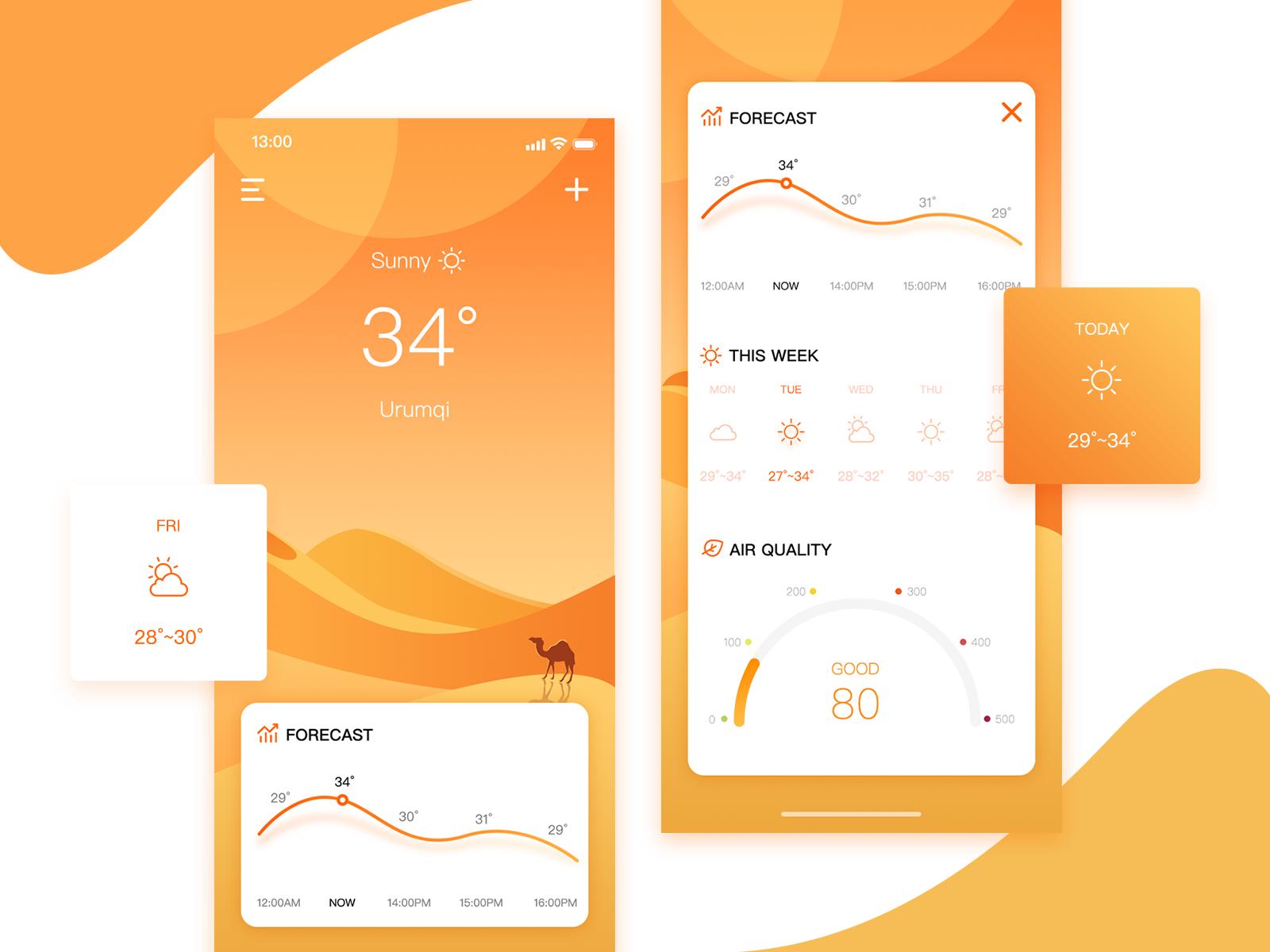 Flat ui design: examples of flat ui design.