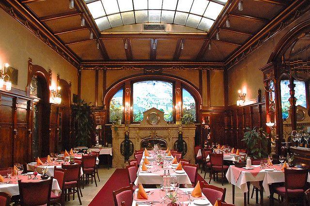 "Art Nouveau ""titanic"" Dining Room Hotel Evropa Praguerobert Magnificent Explorer Of The Seas Dining Room Design Ideas"