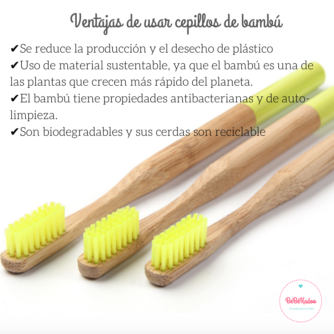 Cepillo De Bambú Cepillos De Dientes Cepillo Bambú
