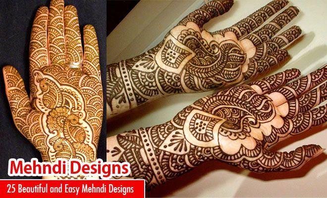 Mehndi For Thin Hands : Beautiful and easy henna mehndi designs for every