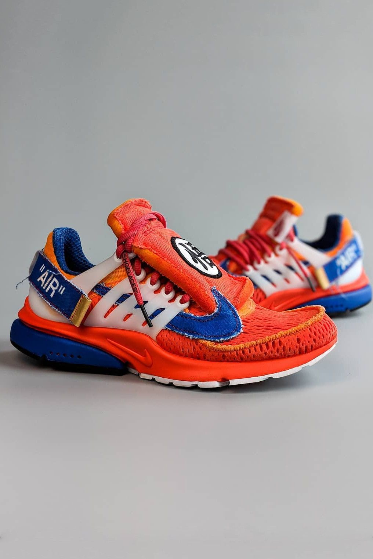 promo code baff6 88a2b 近賞 Off-White™ x Nike Air Presto「Dragon Ball Z」聯乘客製鞋款