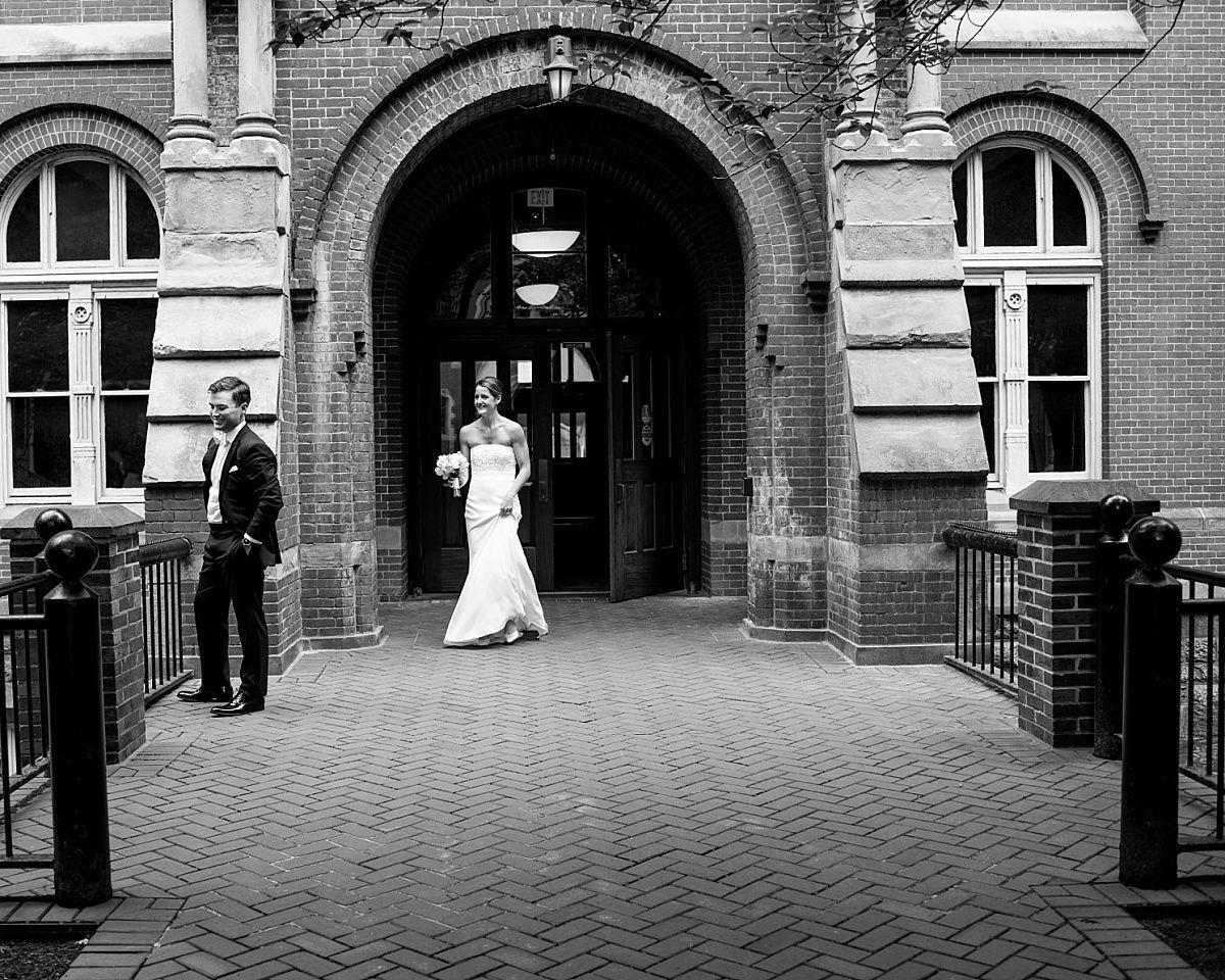 Dahlgren Chapel Wedding Washington DC Erin Tetterton