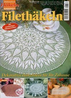 Dekoratives Häkeln Filethäkeln De376 Webshop Pinterest