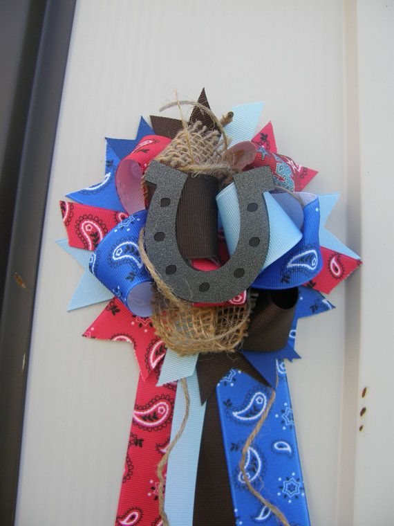 Horseshoe Baby Shower Western Baby Shower Cowboy Baby Shower Mum