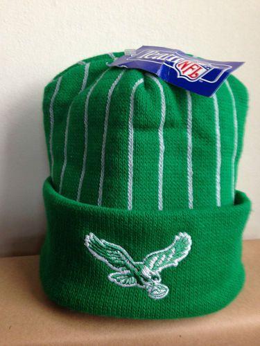 Retro Philadelphia Eagles Vintage Kelly Green Official NFL Beanie Hat BNWT   e7655fad247