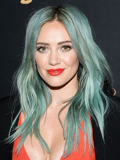 Image result for turquoise hair celebrities