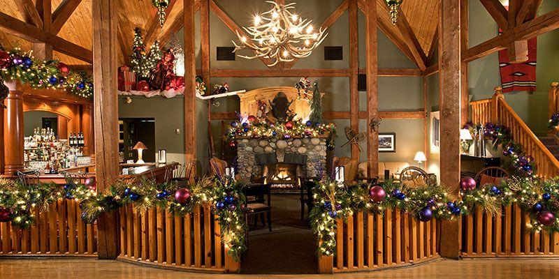 The Christmas Lodge.Buffalo Mountain Lodge Banff Christmas Party 3 Rockies