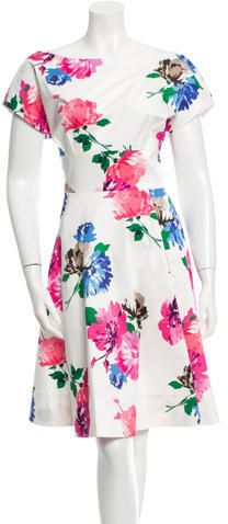 Kate Spade New York Sleeveless Floral Print Dress w/ Tags