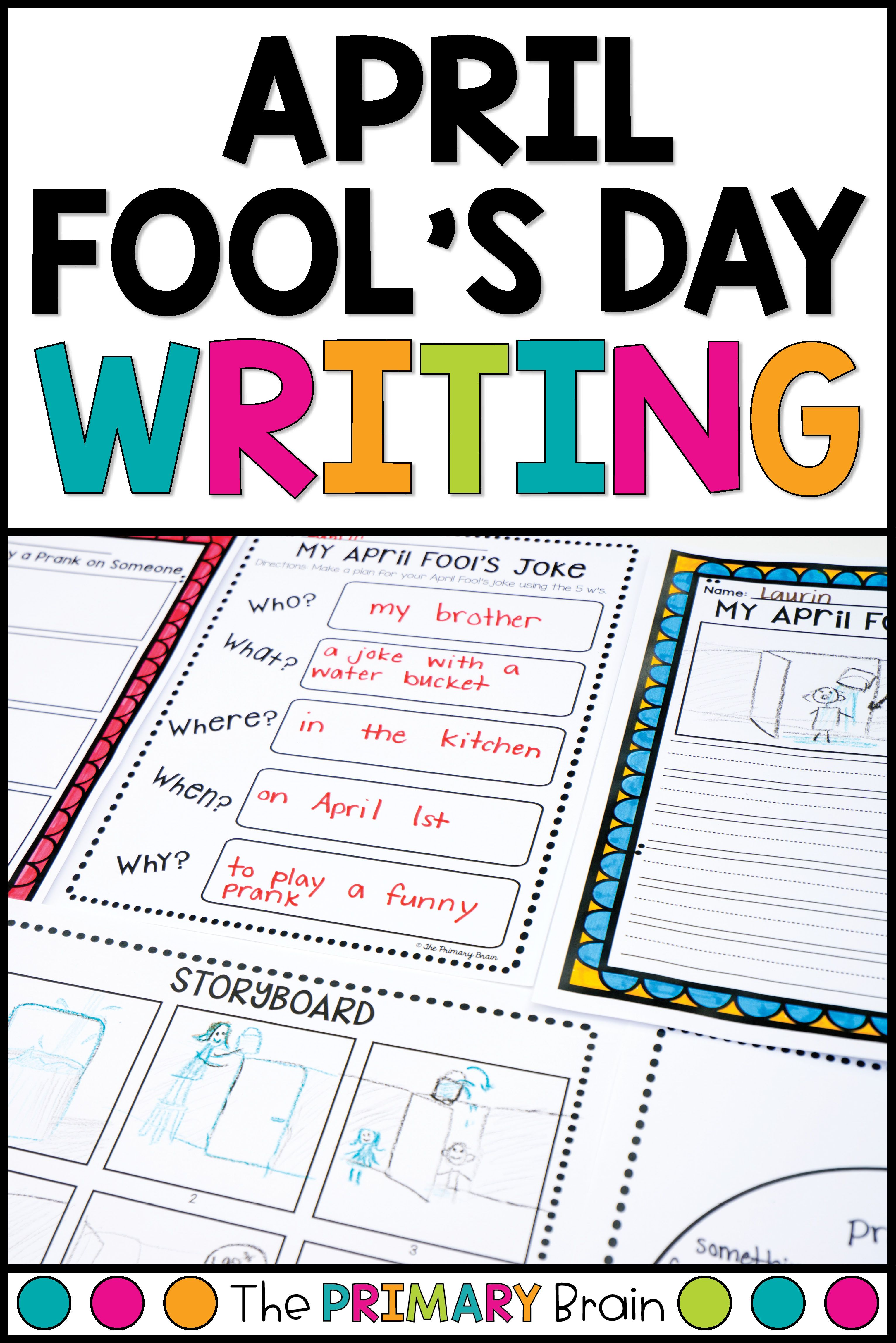 April Fool S Day Writing